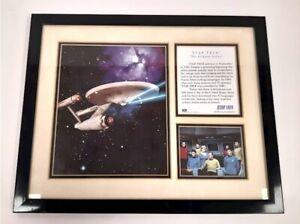 1995 Star Trek Original Crew, Ship Limited Edition Photo w/COA