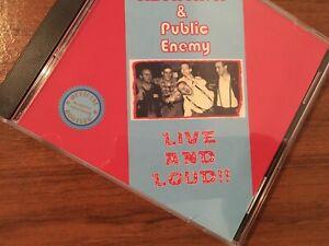 ISD & public Enemy Live & Loud Oi Cd