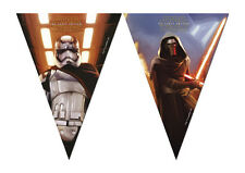 7.5ft x Star Wars The Force Awakens Birthday Party Flag Bunting Decoration