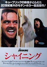 The Shining 1980 Horror Jack Nicholson Japanese Mini Poster Chirashi Japan B5