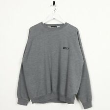 Vintage MEMBERS ONLY Small Logo Sweatshirt Jumper Grey small S