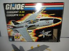 GI Joe Cobra Conquest X-30 Boxed vehicle 1986 Box MIB