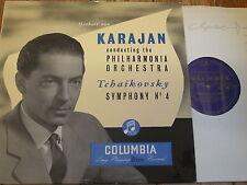 33CX 1139 Tchaikovsky Symphony No. 4 / Karajan B/G