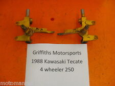 87 88 Kawasaki Tecate atv 4 FRONT SPINDLES SPINDLE R L RIGHT LEFT KNUCKLE KXF250