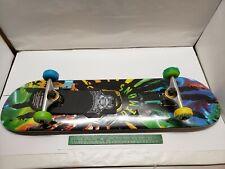 RASTA Tie Dye Speed Demons Skateboard Complete with 53mm Wheels & Bearings NIW!