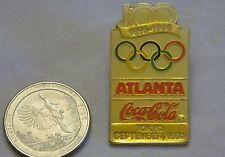 COCA COLA OLYMPIC TOKYO GOLDTONE 1990 LAPEL PIN