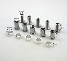 TEAMSSX~New Driveline chain guard bolts set for Road bike, Silver