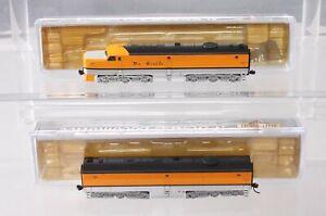 Life Like 7547 N Scale D&RGW PA/PB Diesel Locomotive Set #6001 EX/Box