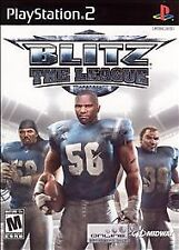 Blitz: The League (Sony PlayStation 2, 2005) Disk mint!