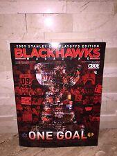 NHL CHICAGO BLACKHAWKS 2009 STANLEY CUP PLAYOFFS EDITION MAGAZINE SEMIFINALS
