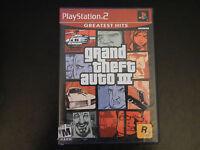 Grand Theft Auto III Greatest Hits (Sony PlayStation 2, 2001)