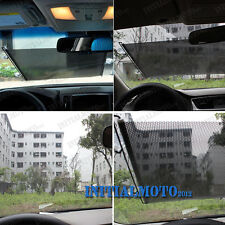 60X40cm Car Roll Retractable Windshield Window Sunshield Visor Sun Shade Curtain