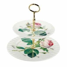 Etagere Redoute Roses Roy Kirkham Porzellan 2 Ebenen Rosendekor 965790