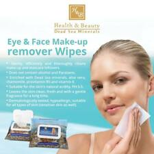 Eye & Face Make-up Remover Wipes Health&Beauty Dead Sea Minerals Hypoallergenic
