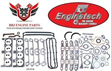 ENGINETECH CHRYSLER DODGE MOPAR 273 318 340 OVERHAUL GASKET SET 1966 - 1989