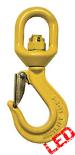 NEW industrial lifting equipment 13mm G80 Swivel Sling Hook with Safety Catch