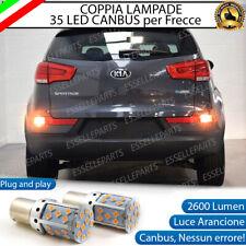 COPPIA LAMPADE PY21W CANBUS 35 LED KIA PRO SPORTAGE 3 FRECCE POSTERIORI NO ERROR