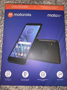 Sealed Motorola Moto e6 Unlocked Smartphone 16GB Brand New