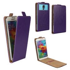 Handy Hülle | HUAWEI Ideos X3 | Flip Schutz Tasche | Flip Lila XS