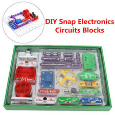 Teacher W-335 Snap circuits Electronics Discovery Kit Science Educational Toy UK
