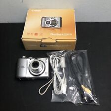 Canon PowerShot A1100 IS Digital Camera 12.1MP 4x Gray