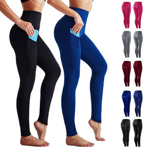 Damen Sporthose Laufhose Jogginghose Fitnesshose OLDSCHOOL Training Betont