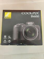 New open box Nikon COOLPIX B600 Digital Camera (Black)