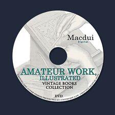Amateur Work, illustrated – Vintage Magazines 7 Volumes PDF on 1 DVD Sketches