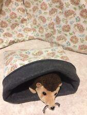 Novelty Hedgehog Cotton - snuggle sack- animal Bonding Bag -Hedgehog -guinea Pig