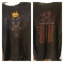 Slayer 2006 Tour Used Worn Shirt Size L