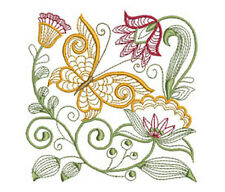 JACOBEAN EXOTIC 20 MACHINE EMBROIDERY DESIGNS