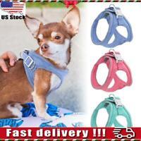 Dog Harness Reflective Padded Small Pet Cat Puppy Soft Vest Chihuahua Bulldog BJ