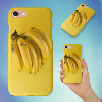 YELLOW BANANAS HARD BACK CASE FOR APPLE IPHONE PHONE