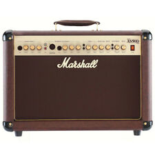 Marshall AS50D 50 Watt Acoustic 2x8 2 Channel Combo w/ Effects, New!