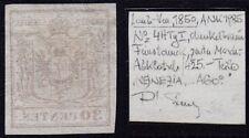Gestempelte Briefmarken mit BPP-Signatur österreichische