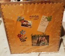 "Embellish Your Story Carol Roeda 16"" x 16"" Yellow w/ White Polka Dots Memo Board"
