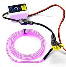 Lk-0029pk 1/10 o 1/8 CORPO SHELL COVER TRON LED Luce Filo Tubo Kit Set Rosa