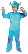 BOYS GIRLS DISNEY MONSTERS INC SULLY BLUE HALLOWEEN COSTUME SIZE 4-6 DG58765L