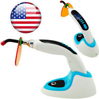 2000MW Wireless Cordless LED Dental Curing Light Lamp W/ Teeth Whitening CL8