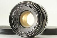 【MINT】 Canon 35mm f/2 Black Leica Screw Mount L39 LTM MF Lens cap from Japan 519