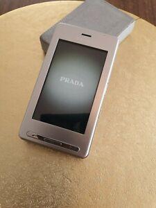 LG PRADA KE850 - Silver (Unlocked) Cellular Phone