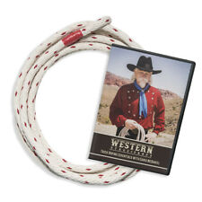 Cowboy Trick Roping Lasso Essentials Kit - Rope and DVD Combo