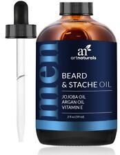 Aceite Natural para Barba con vitaminas - Creciendo y Arreglando Barba Y Bigote