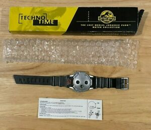 Jurassic Park The Lost World 1997 Techno Time Burger King Watch Collectible NIB