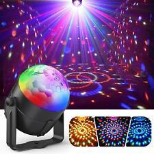 Boule Disco, ACCEWIT Lumière Soirée Lampe de Scène Éclairage de Discothèque Proj