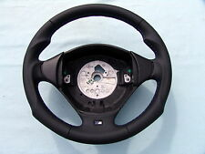 BMW M TECHNIC STEERING WHEEL E36 M3, ERGONOMIC INLAYS, NEW LEATHER