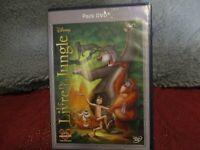 "COMBO DVD + BLU-RAY ""LE LIVRE DE LA JUNGLE"" edition Francaise Disney N°22"