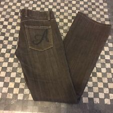 ANONAME Sienna Brown Soft Aged Look Denim Boot Cut Jeans Size 28  J6