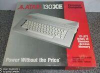 ATARI 130XE 8 BITS SYSTEM NOS BRAND NEW VINTAGE VERY RARE ATARI HOME COMPUTER