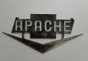 Apache truck decoration metal art